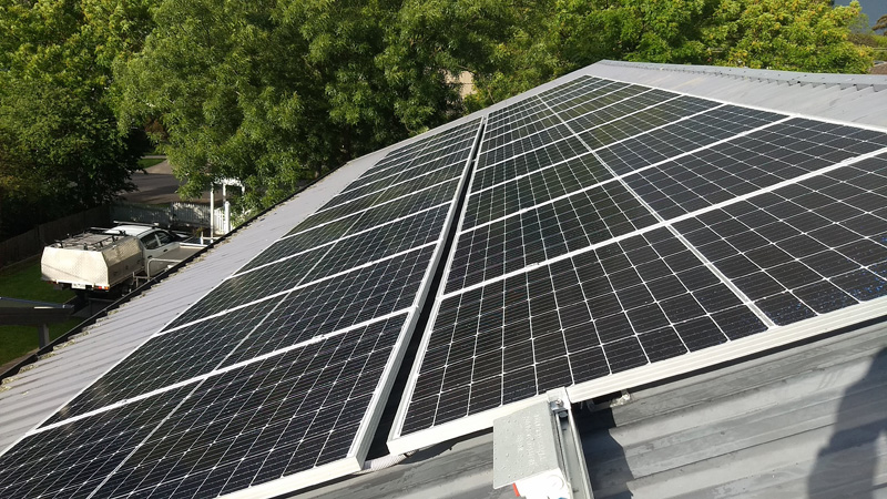 Rooftop solar installation completed in Korumburra
